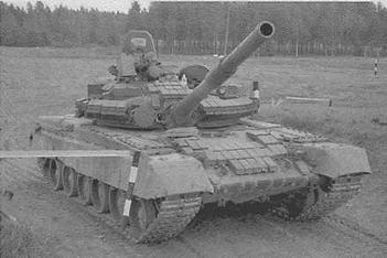 """Основной танк Т-80БВ с КУВ """"Кобра''"""