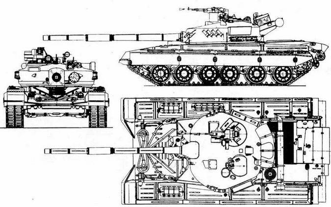 """Проект основного танка """"объект 478"""""""
