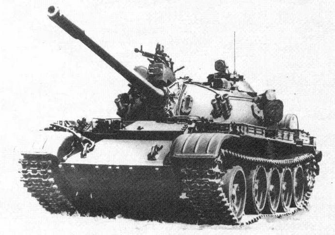"""Средний танк Т-55А с КУВ """"Бастион'"""