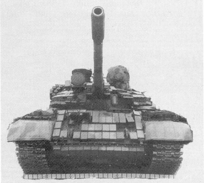 """Средний танк Т-55АМВ с КУВ """"Бастинон"""""""