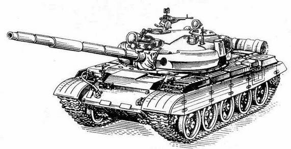 """Средний танк Т-62М с КУВ """"Шексна"""""""