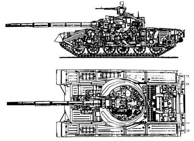 """Опытный танк """"объект 219В"""""""