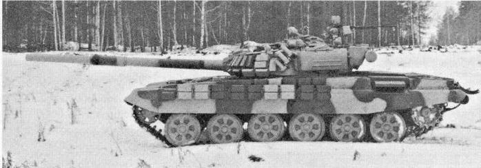 """Основной танк Т-72Б с КУВ """"Свирь"""""""