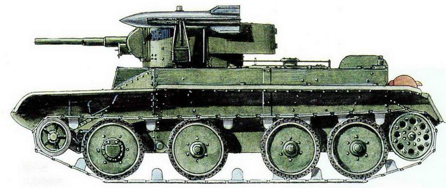 БТ-5 с двумя реактивными минами (проект)