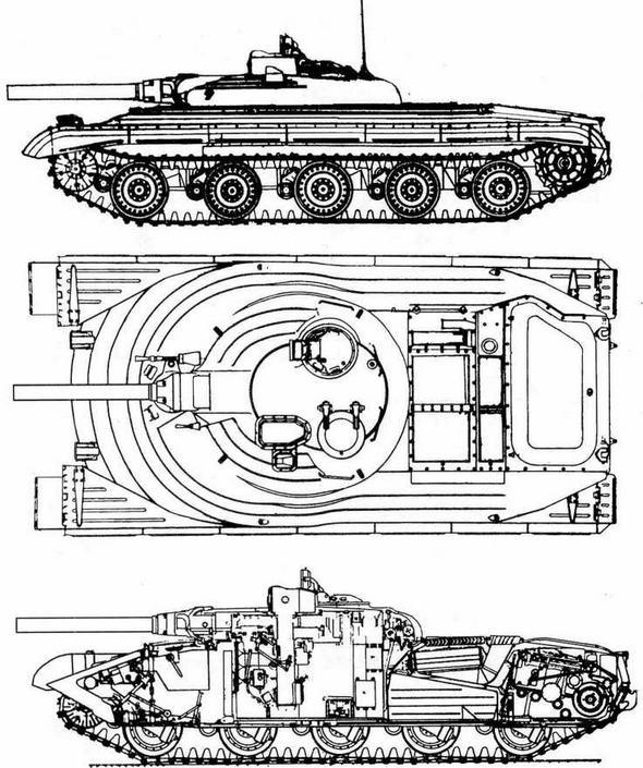 "Проект ракетного танка ""объект 757"""