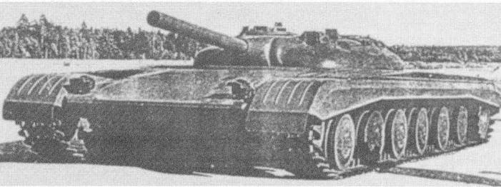 "Макетный образец танка ""объект 775"""