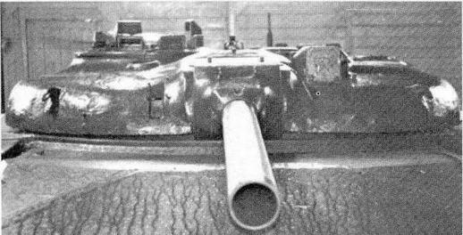 """Башня опытного ракетного танка """"объект 775"""" (HИИБТ, Кубинка)"""