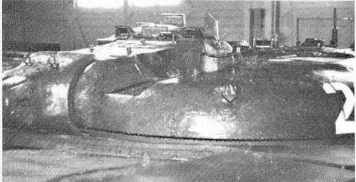 """Башня опытного ракетного танка """"объект 775"""" (НИИБТ, Кубинка)"""