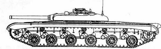 """Опытный ракетный танк """"объект 780"""""""