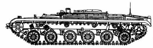 Ракетный танк объект 287