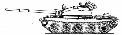 """Танк Т-62 с ракетным комплексом """"Овод"""""""