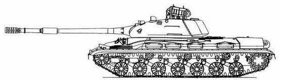 """Танк Т-10М с ракетным комплексом """"Овод"""""""