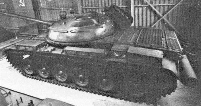 """Танк """"объект 167Мл"""" с ракетным комплексом """"Малютка"""" (НИБТКубинка)"""