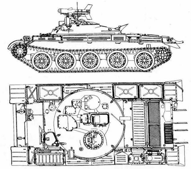 """Ракетный танк ИТ-1 ('объект 150"""")"""