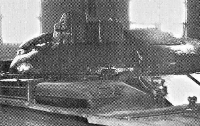 Башня ракетного танка ИТ-1 (НИИБТ Кубинка)