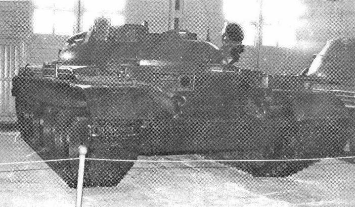 Ракетный танк ИТ-1 (НИИБТ, Кубинка)
