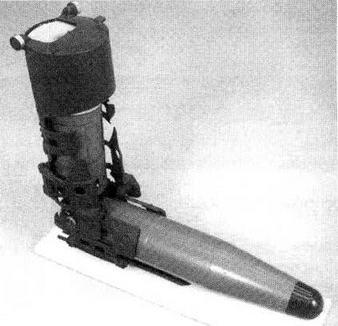 Управляемый снаряд 9М112М при хранении в автомате заряжания