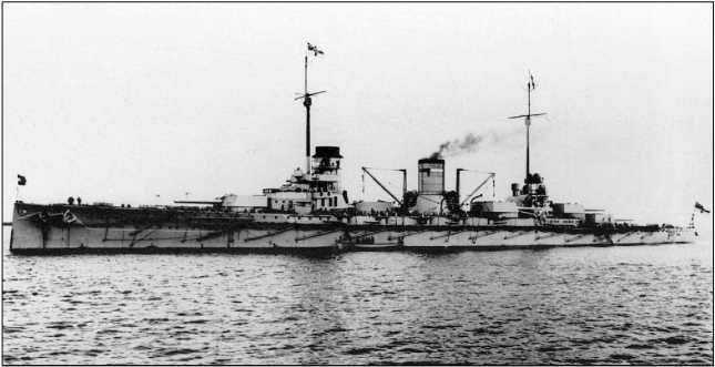 Линейный крейсер «Гебен».