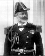 Главнокомандующий Средиземноморским флотом сэр АрчибальдБеркли Милн.