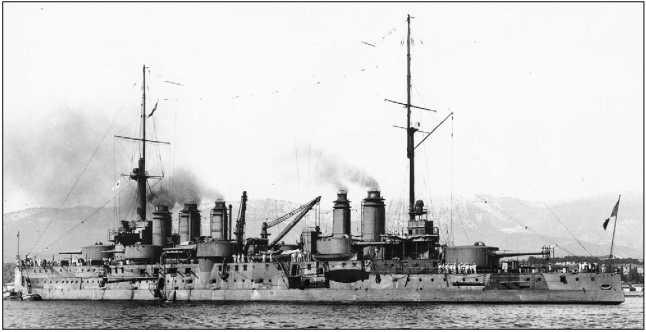 «Дидро» — флагман группы А французского Средиземноморского флота.