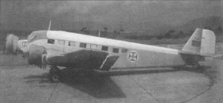 ААС-1 (6320)— один из 13 «Туканов», которые после снятия с вооружения ВВС Франции передали в декабре 1960г. в ВВС Португалии. На фюзеляже установлена вторая мачта натяжной радиоантенны, вторая мачта — стандартный вариант для Ju-52/3m французской постройки. Верхняя часть фюзеляжей португальских Юнкерсов окрашивалась в белый цвет, все остальное — цвет натурального металла.