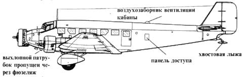 Ju 52/3m ge (ранний)