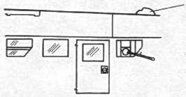 Ju 52/3m воздухозаборник вентиляции кабины