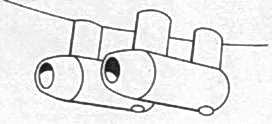 Ju 52/3m стандартные радиаторы
