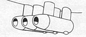 Ju 52/3ms на некоторых машинах