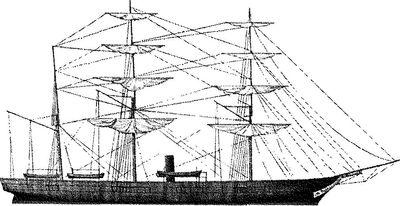 Первая жертва подводных лодок — корвет «Хаусатоник».