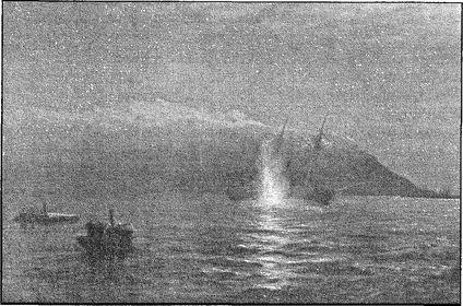 Потопление русскими катерами турецкого сторожевого корабля «Интибах».