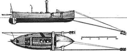 Минный катер «Царевич».