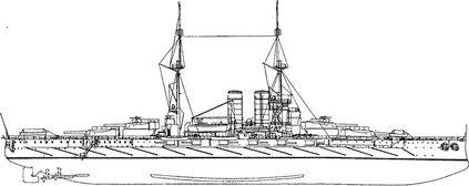 Первая жертва управляемых торпед линкор «Вирибус Унитис».