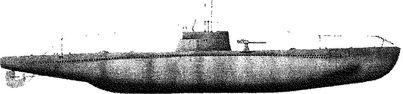 Итальянская подводная лодка «Ириде».