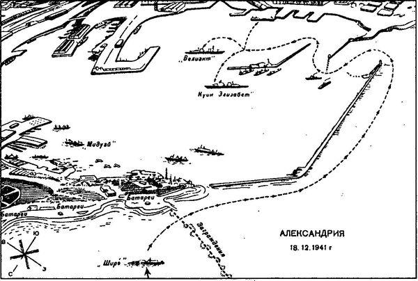 Схема атаки Александрии.