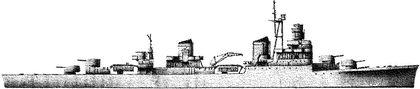Итальянский крейсер «Ульпио Тройано».
