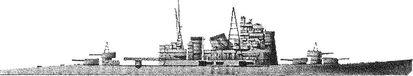 Японский тяжелый крейсер «Такао».