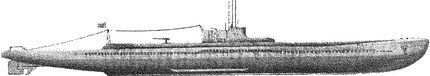 Японская подводная лодка типа «Кайдай», используемая как носитель «Кайтен».