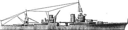 Американский <a href='https://arsenal-info.ru/b/book/2414474991/4' target='_self'>крейсер</a> «Индианаполис».
