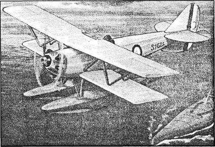 Английский гидроплан «Пэто-2».
