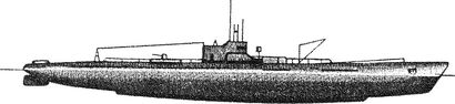 Японская субмарина И-15.