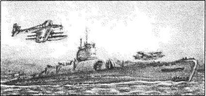 Субмарина И-400 — носитель гидросамолетов «Сейран».