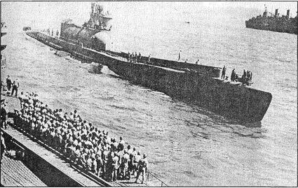 И-400 выходит в боевой поход.