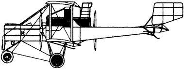 Итальянский тяжелый самолет Ка-3.