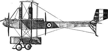 Итальянский самолет триплан Ка-4.