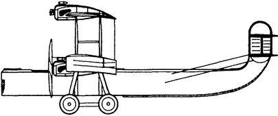 Французский самолет-гигант «Блерио-72».