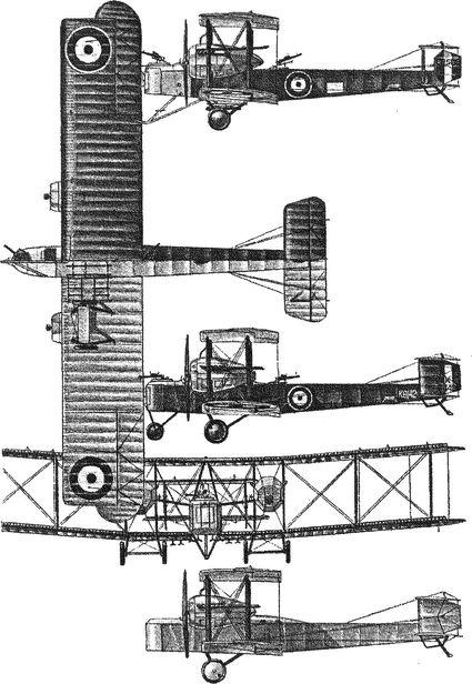 Английский тяжелый бомбардировщик ФБ-27 «Вими».