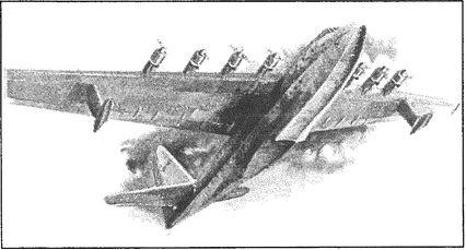 Американская летающая лодка «Геркулес».