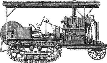 Американский трактор «Холт» — машина, пробудившая идею создания танка.