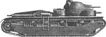 Английский танк прорыва «Индепендент».